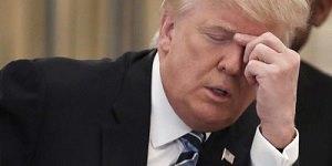 Trump sad
